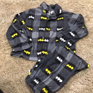 24M Batman flannel pajama set